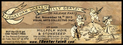 13.11.16 BILLY GOATS CD RELEASE