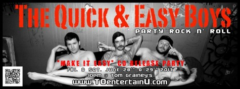 13.6.28 and 29 - QEB cd release Make it Easy