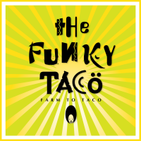 Funky Taco Logo Square PNG