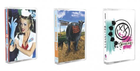 blink-182 cassettes