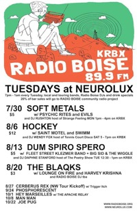 radio boise tuesdays