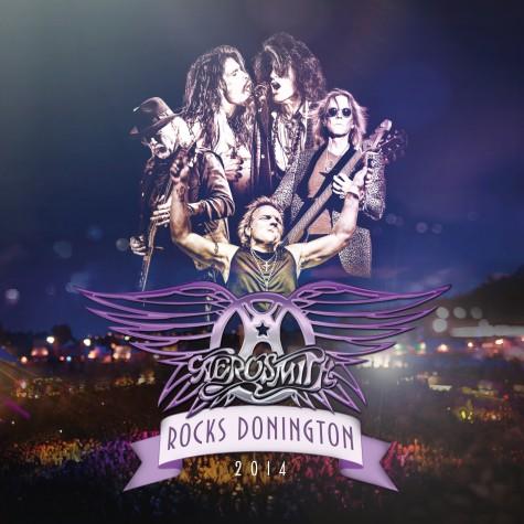 Aerosmith Donington DVD+CD cover