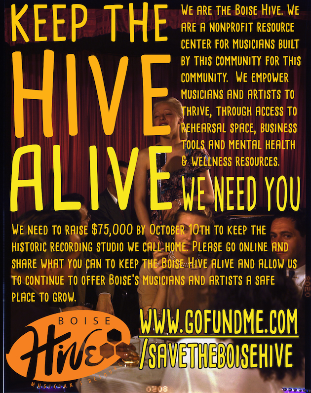 save the boise hive!