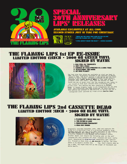 The Flaming Lips Vinyl Reissues 420