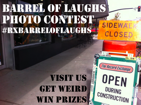 barrel of laughs contest