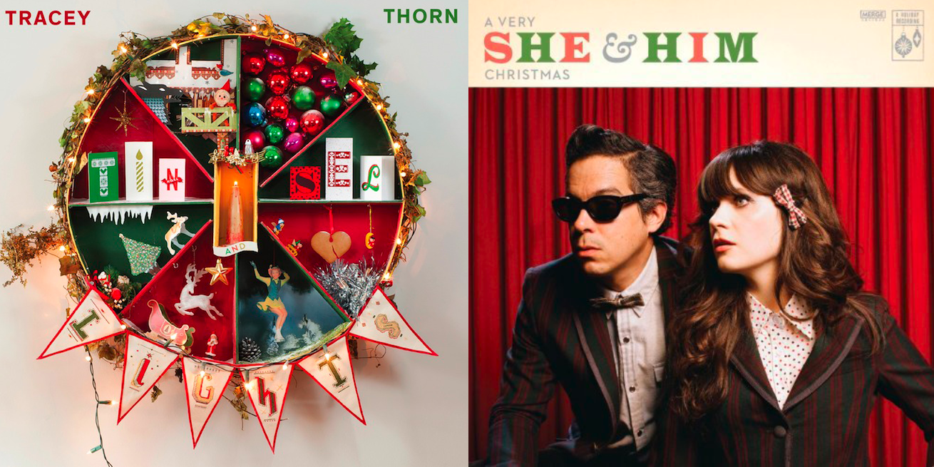 She And Him Christmas.Have A Very Merry Merge Christmas With She Him And Tracey